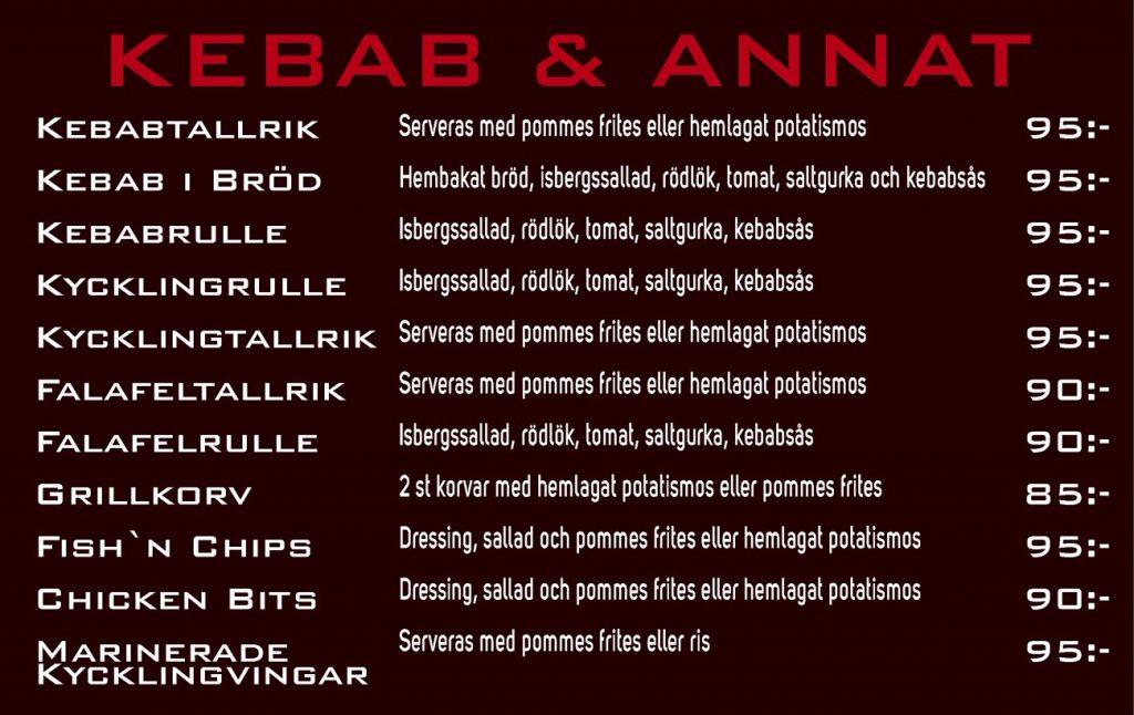 Kebab och annat